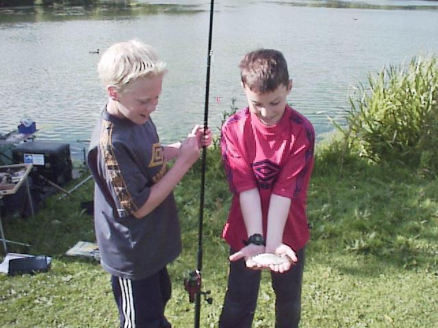 First Fish, Backwell Lake Rudd